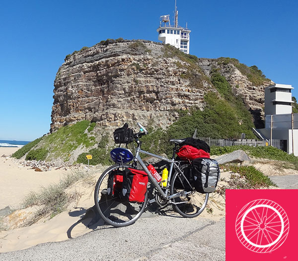 bicycle touring newcastle to Gold Coast
