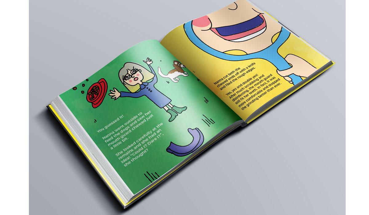 Kids book design