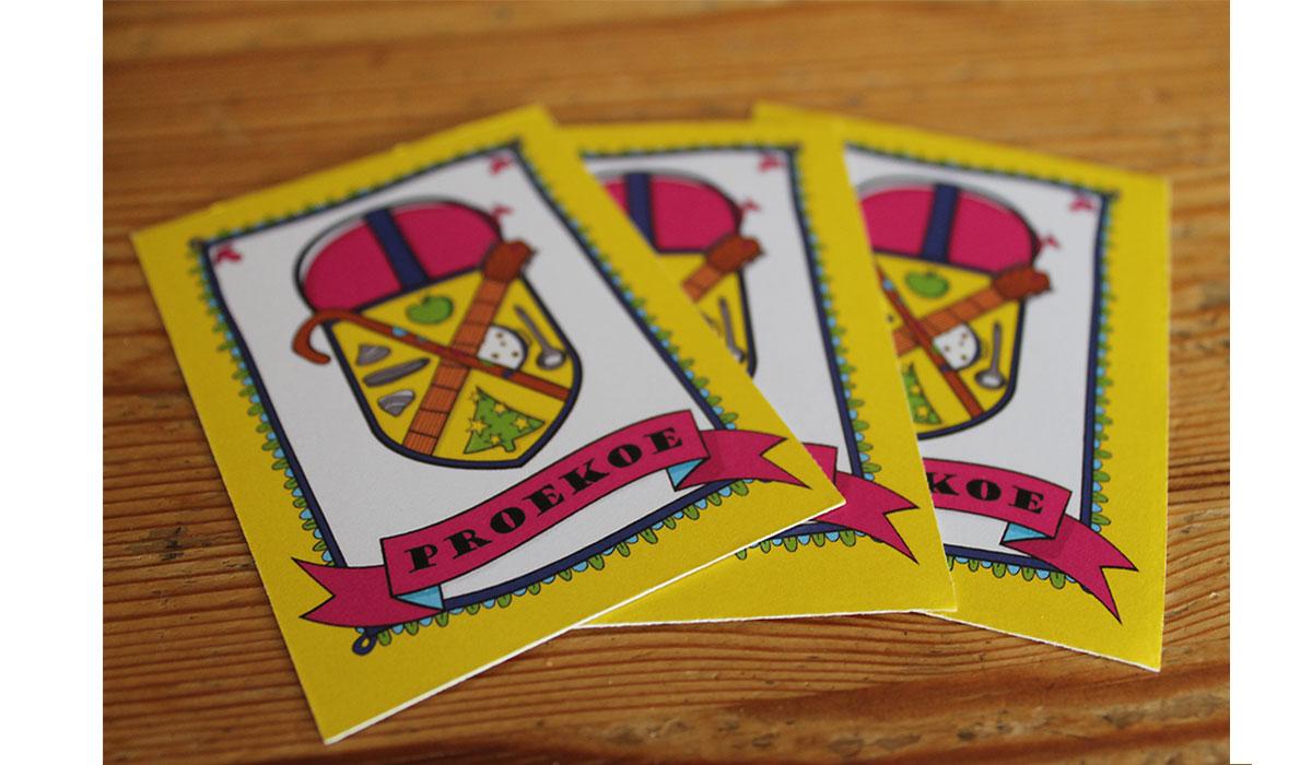 Proekoe Game Cards
