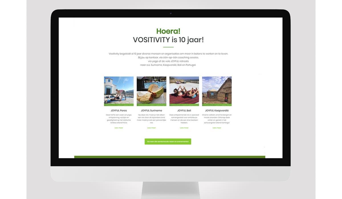 Vositivity webdesign