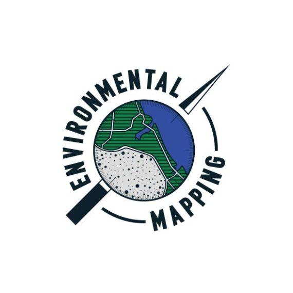 Geographical logo design