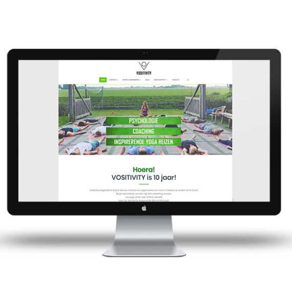 vositivity website design