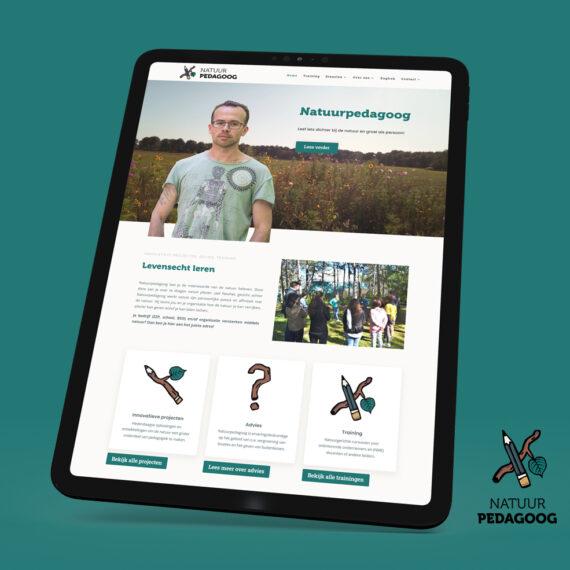 Website Natuurpedagoog