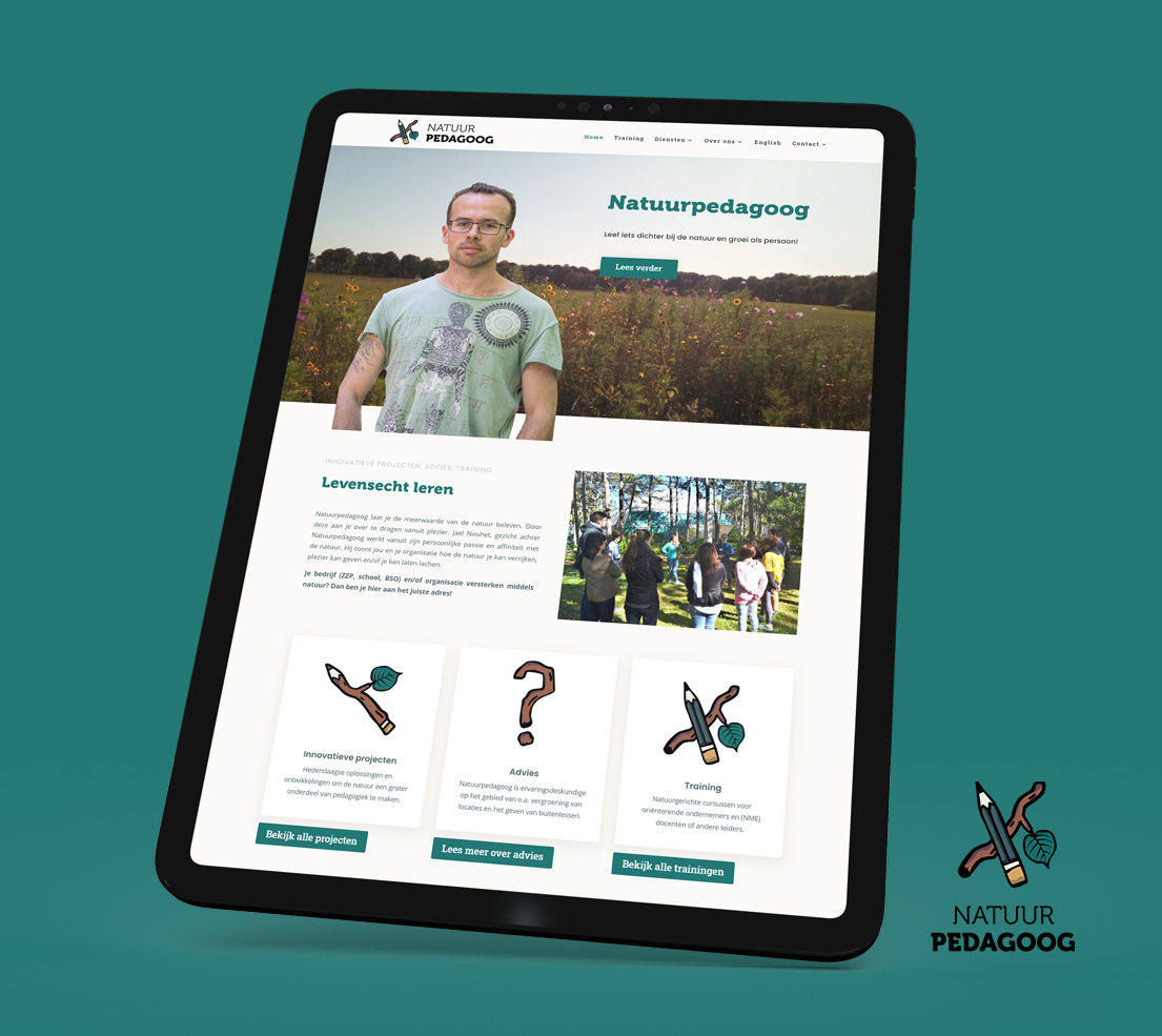 Website Natuurpedagoog