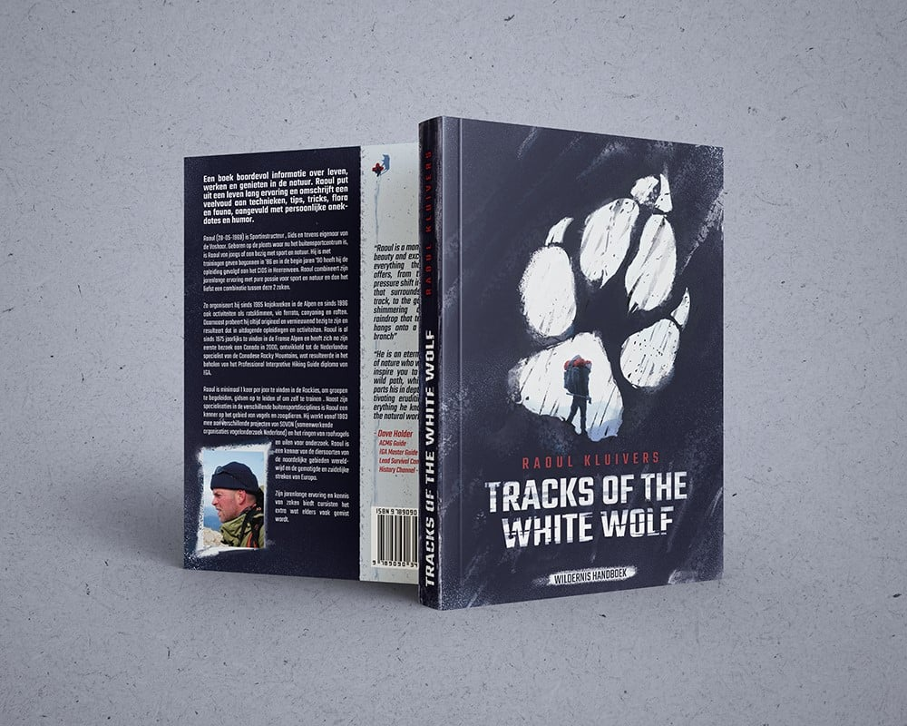 boek Tracks of the white wolf